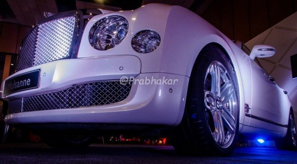 Bentley Mulsanne - Hyderabad International Auto Show 2015