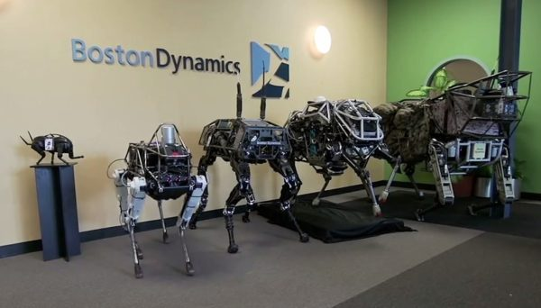 Boston Dynamics Dog Spot
