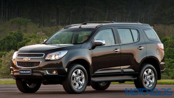Gm India To Launch The Chevrolet Trailblazer Suv In 2015 Motoroids