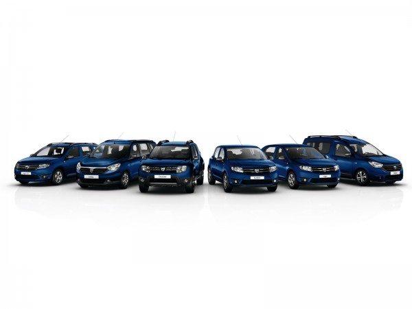 Dacia- 10th Anniversary-limited-edition-range