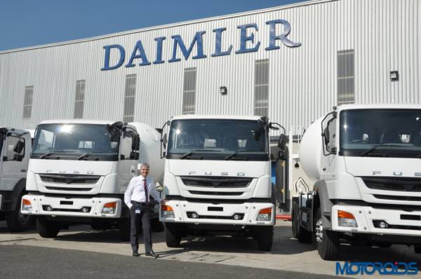 Daimler India to export trucks to Thailand (1)