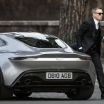 "Daneil Craig spotted during filming James Bond flick ""Spectre"" in Aston Martin DB10"