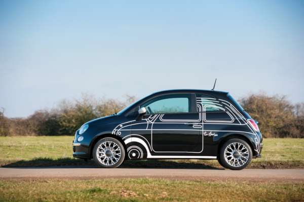 Limited edition FIAT 500 Ron Arad goes on sale in the UK