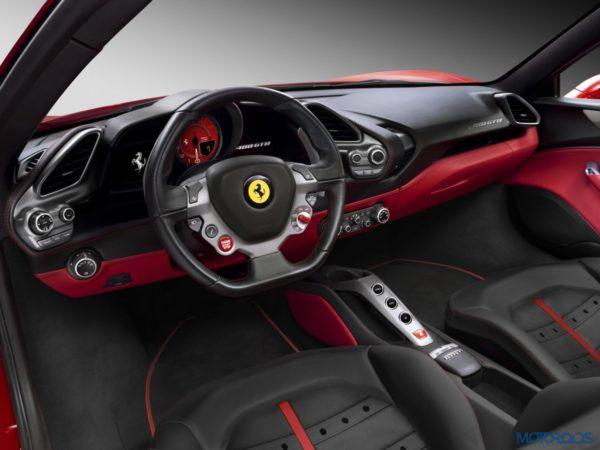 Ferrari 488 GTB Interior (2)