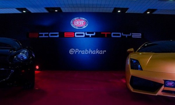 Ferrari California & Lamborghini Gallardo - Hyderabad International Auto Show 2015