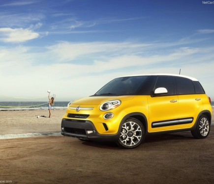 Fiat 500l Mpv Imported Into India For R Amp D Purpose Motoroids