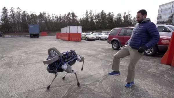 Google Robot Dog Spot