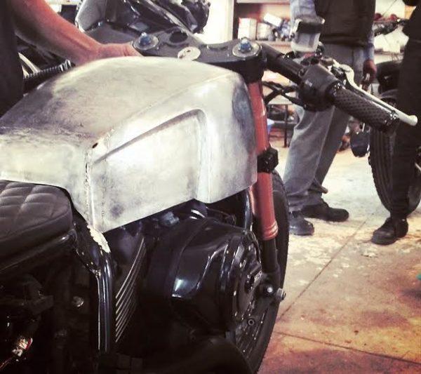 Harley Davidson RCM Street 750 café racer (2)