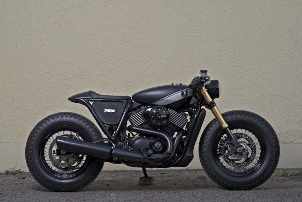 Harley Davidson RCM Street 750 café racer (3)