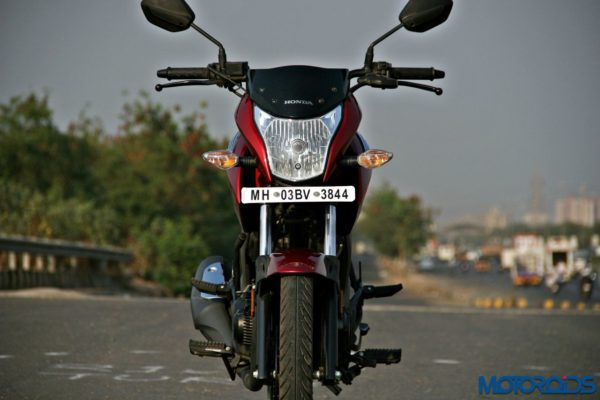 Honda CB Unicorn 160 Review - Static and Details - Front - 3