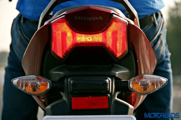 Honda CB Unicorn 160 Review - Static and Details - Tail Light - 2