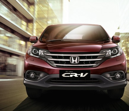 top of the line honda cr v updated with new features motoroids. Black Bedroom Furniture Sets. Home Design Ideas