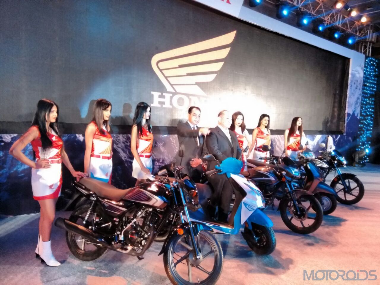 Live Honda Motorcycles And Scooters India Mega Unveiling Activa 3g Motor More Motoroids