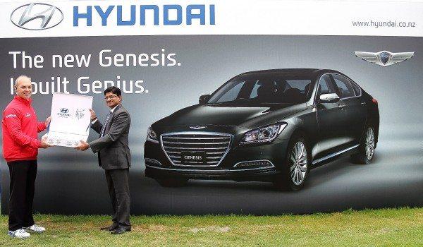 Hyundai - First Ball Handover - ICC World Cup 2015
