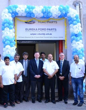 John Cooper, VP Customer Service Ford Asia Pacific at the inauguration of Eureka Ford Parts, Chennai