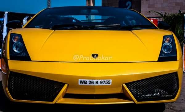Lamborghini Gallrdo Superleggera (front) - Hyderabad International Auto Show 2015