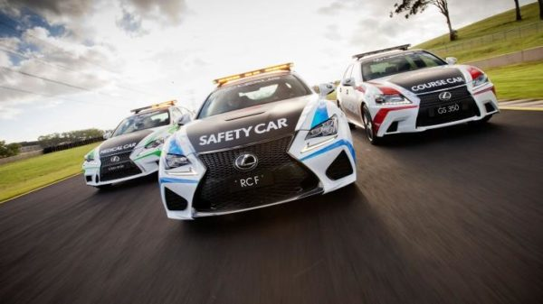 Lexus RC F GS 350 F Sport and IS 350 F Sport - V8 Supercars - 2