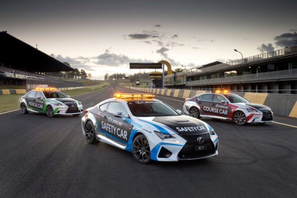 Lexus RC F GS 350 F Sport and IS 350 F Sport - V8 Supercars