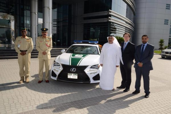 Lexus RCF in Dubai Police (1)