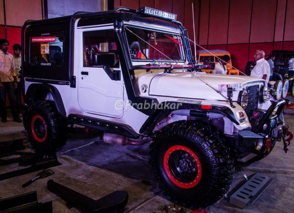 Mahindra Thar Modified - Hyderabad International Auto Show 2015