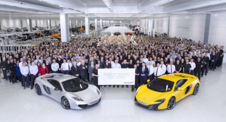 McLaren Super Series 5000th car
