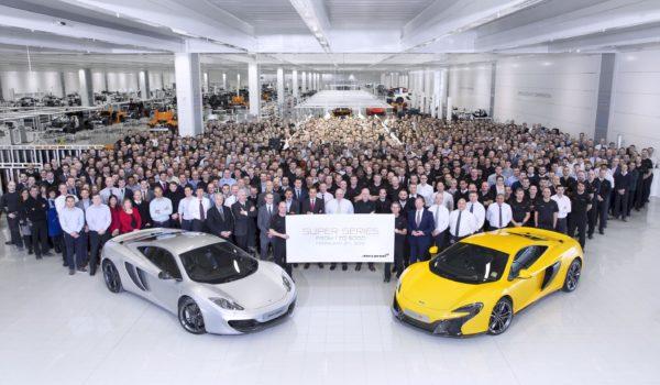McLaren Super Series 5000th car
