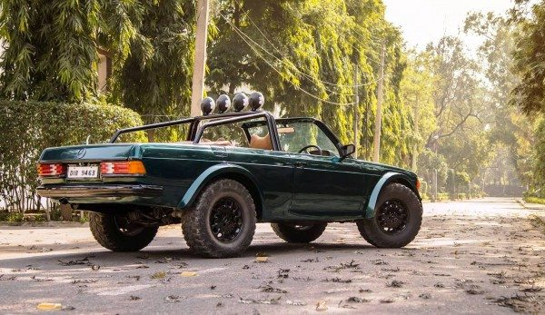 This Chopped Mercedes W123 From Delhi Would Do Mad Max Proud Motoroids