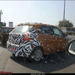 New 2015 Ford Figo Spied Again in Gujarat