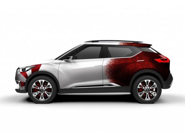 Nissan Kicks Concept Samba Dance inspired livery (1)