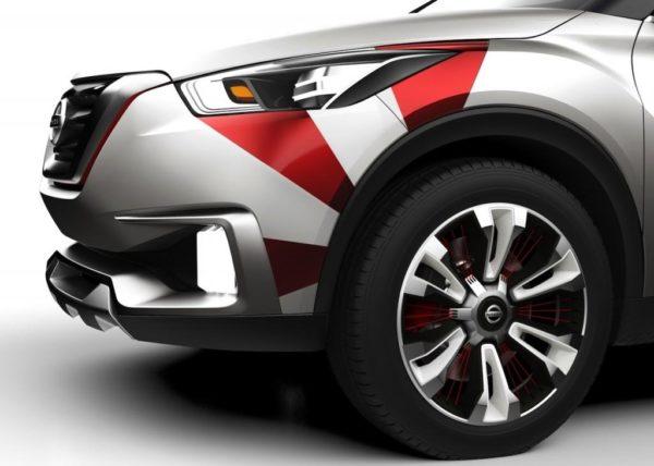 Nissan Kicks Concept Samba Dance inspired livery (4)