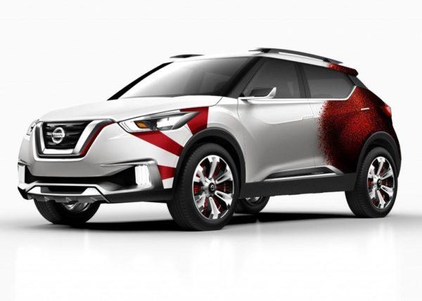 Nissan Kicks Concept Samba Dance inspired livery (5)
