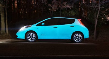 Nissan Leaf glow-in-the-dark (2)