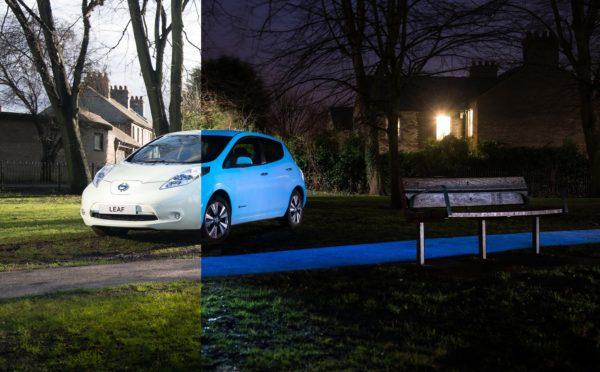 Nissan Leaf glow-in-the-dark (4)