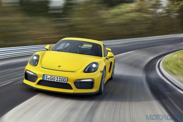 Porsche Cayman GT4 - Official Images - 1