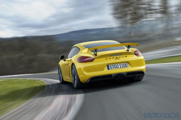 Porsche Cayman GT4 - Official Images - 2