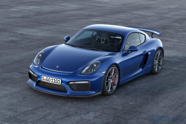 Porsche Cayman GT4 - Official Images - 4