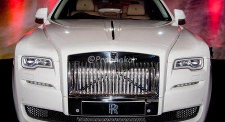 Rolls Royce Ghost Series II - Hyderabad International Auto Show 2015