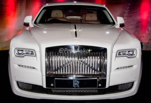 Rolls Royce Ghost Series II - Hyderabad International Auto Show 2015
