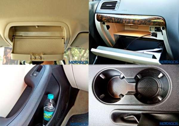 VW Jetta facelift internal storage