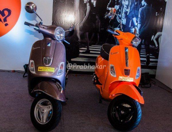 Vespa - Hyderabad International Auto Show 2015
