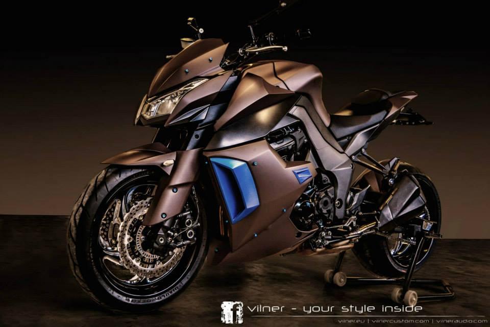 Vilner Works Its Magic On A Kawasaki Z1000 Motoroids