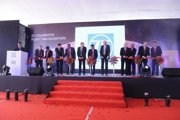 ZF Friedrichshafen AG opens multi-product Plant in Pune (1)