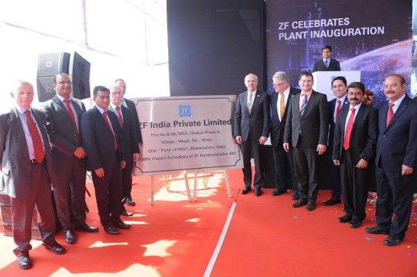 ZF Friedrichshafen AG opens multi-product Plant in Pune (3)