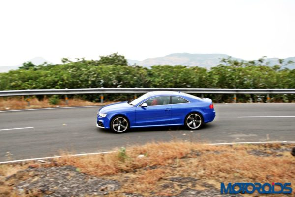 audi RS5 action (4)