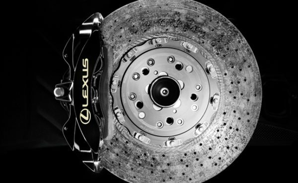 Lexus LFA carbon brake