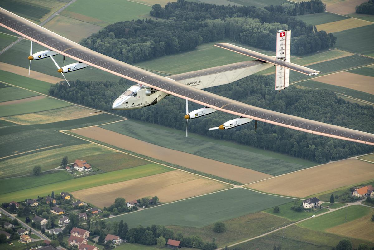 Solar Impulse 2 Solar Powered Plane On World Trip Halts In