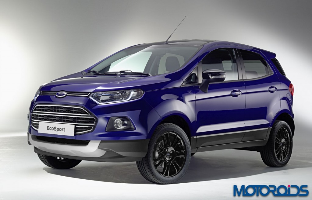 2015 Ford Ecosport Facelift India (2)