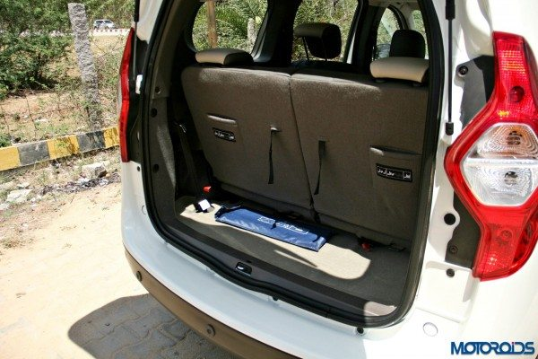2015 Renault Lodgy - Boot Space