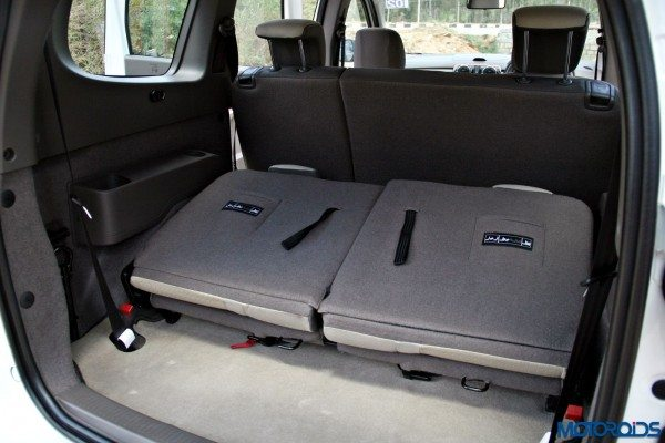 2015 Renault Lodgy - Boot Space with Third Row Tumbled
