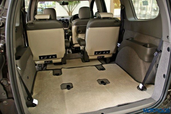 2015 Renault Lodgy - Boot Space with Third Row removed